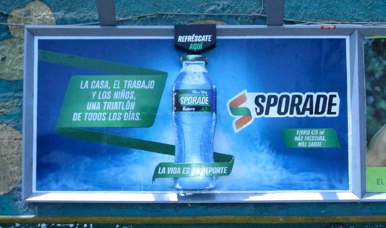 La nueva tendencia, Marketing Olfativo en la publicidad exterior.