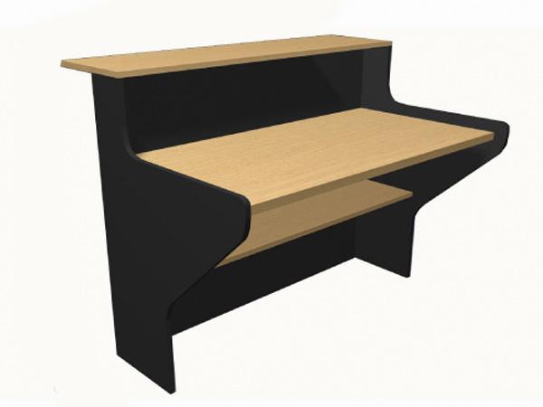 escritorio recto