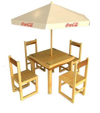 mesas coca cola