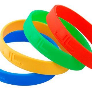 pulseras de silicona-merchandising