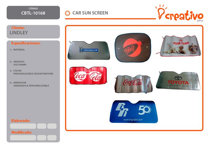 Car sun screen CBTL-10168