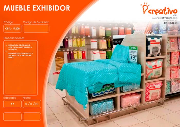 Mueble exhibidor CBTL-11208