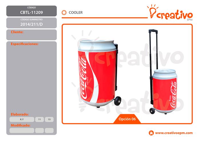Cooler CBTL-11209 - O6