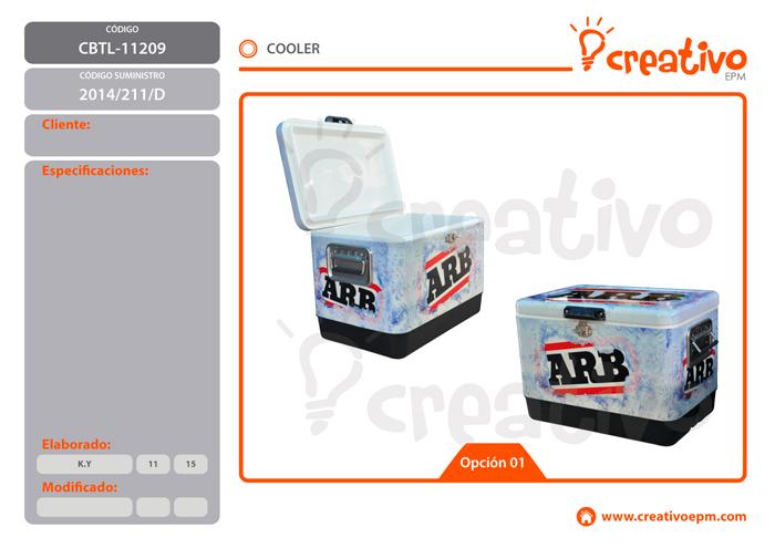 Cooler CBTL-11209