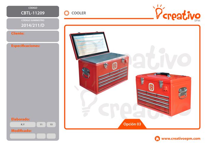 Cooler CBTL-11209 - O3