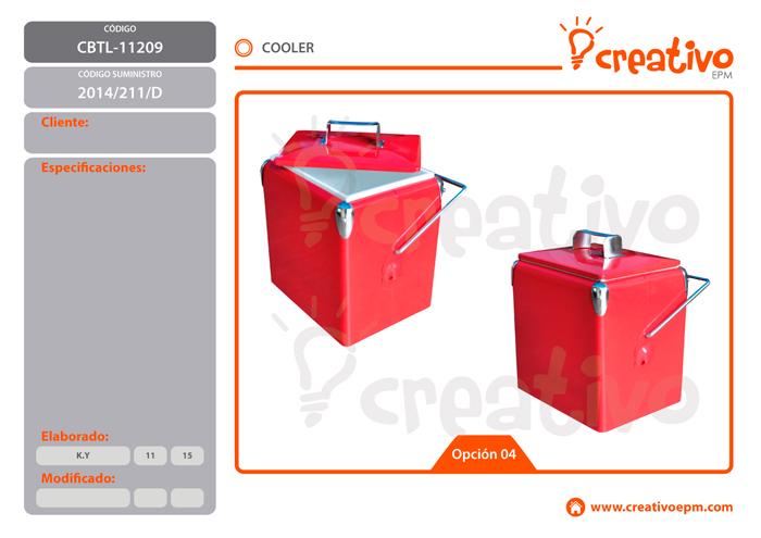 Cooler CBTL-11209 - O4
