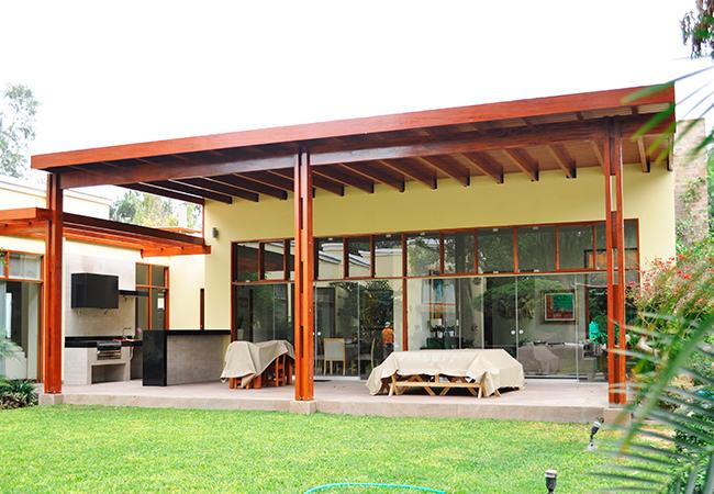 Techos de de techos de madera mircoles de abril de for Techos de madera para casas