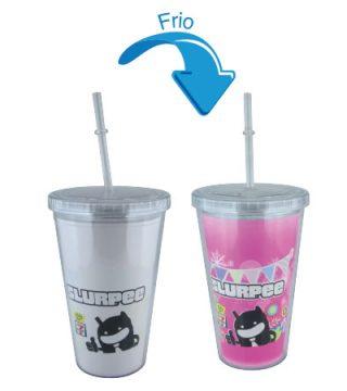 creativoepm vasos que cambian de color merchandising