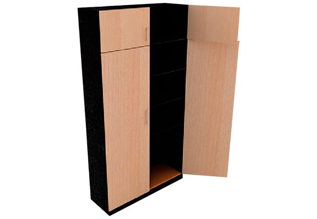Archivador de piso vertical madera melamine mueble para for Mueble archivador oficina