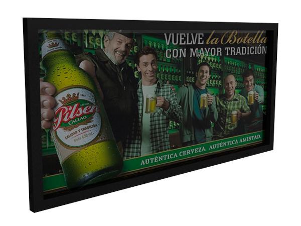 cuadro madera-PERU-pop-merchandising-cuadro para-supermercado-tienda-punto-de-venta