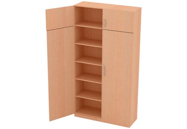 mueble archivador de piso vertical madera melamine mueble