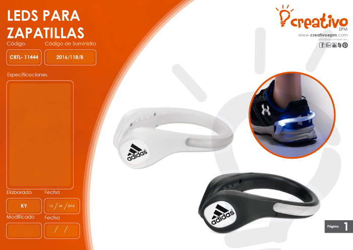 LEDS para Zapatillas CBTL-11444