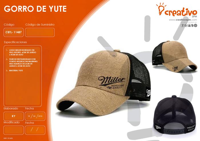 Gorro de Yute CBTL-11487