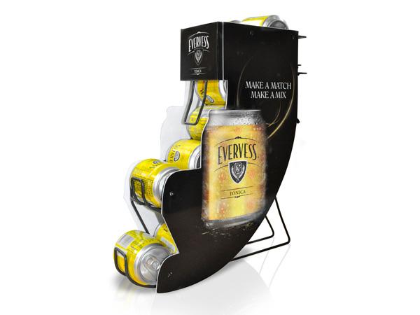 Dispensador de latas creativo epm - Dispensador de latas ...