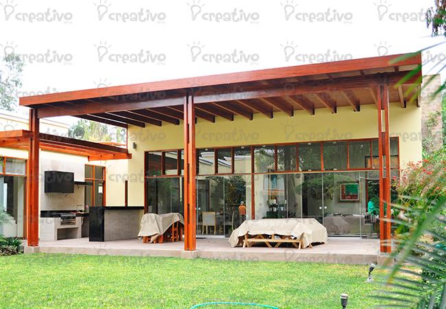 Techos de terraza creativo epm - Techos de madera para terrazas ...