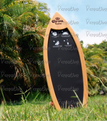 pizarra-tabla-surf-blackboard-surfboard