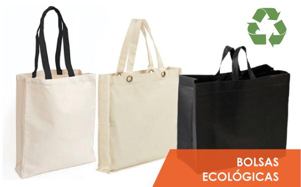 Bolsas de tela ecológicas