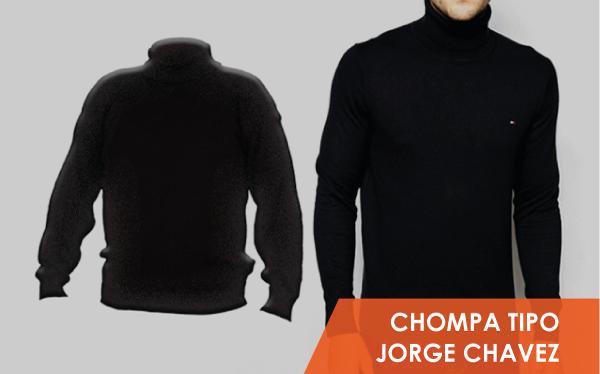 Chompas tipo Jorge Chavez